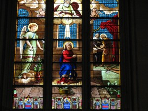 Stained Glass in St. Patty's